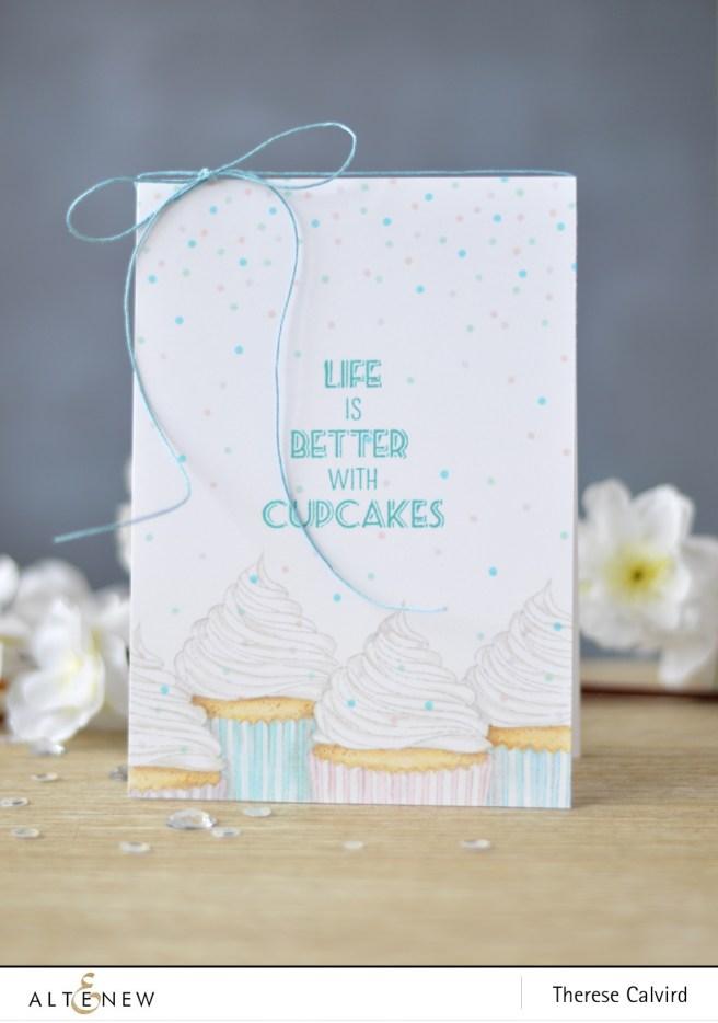 Altenew - Layered Cupcake - Lostinpaper (card) 1 copy