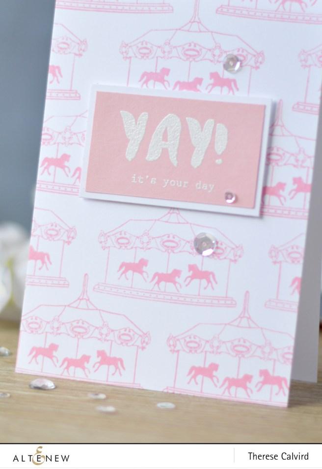 Altenew - Carousel - Celebrate - Lostinpaper (card) 1 copy