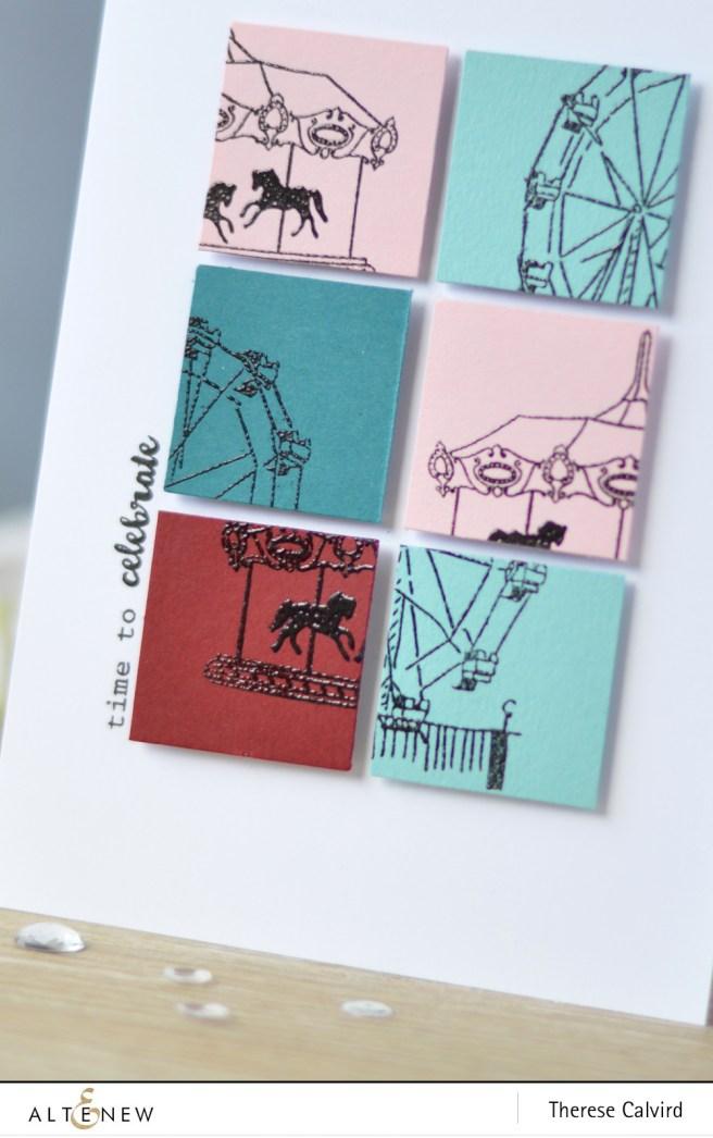 Altenew - Carousel - Ferris Wheel - New Day Card Kit (card video) 1 copy
