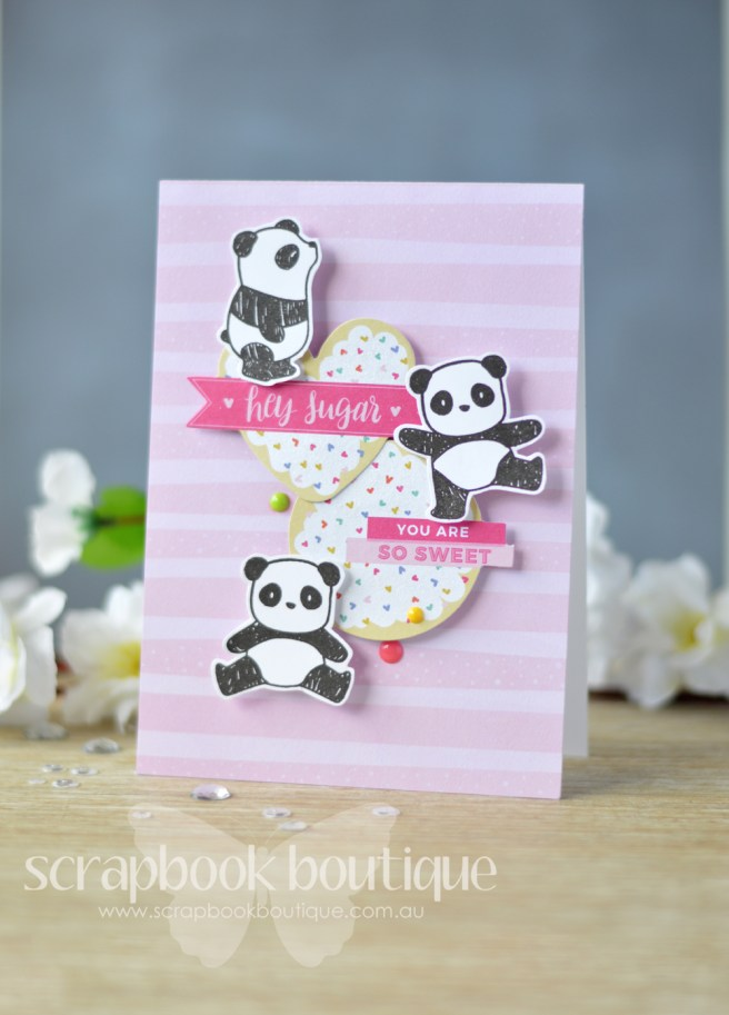 Lostinpaper - Nuvo Drops - Mama Elephant - Pandamonium - Pink Paislee - Oh my Heart (card video) 1
