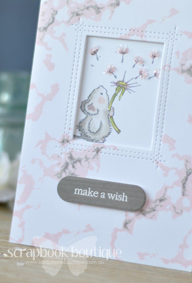 How to use the Layering Marble Waffle Flower stamp set - card video