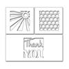 PB - Thank You Squares