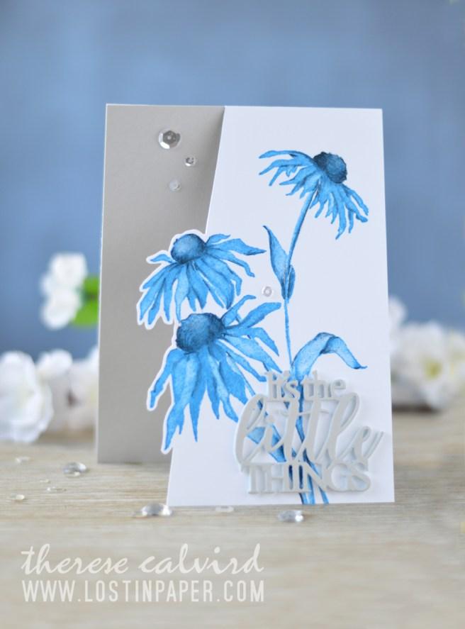 Lostinpaper - Penny Black - Dancing Daisies - Dream Big (card video) 1