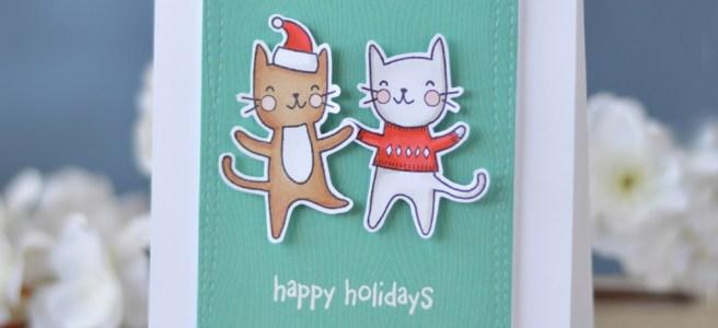 Lostinpaper - Poppystamps - Purrfect Holidays - Lostinpaper (card video) 2