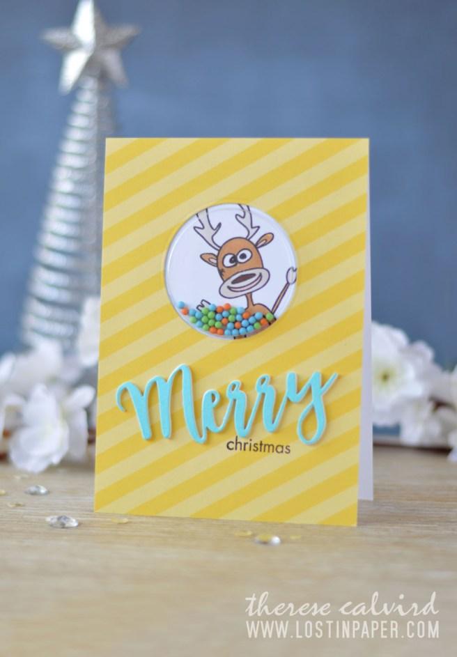Lostinpaper - Stamplorations - Reindeer Games (card video)