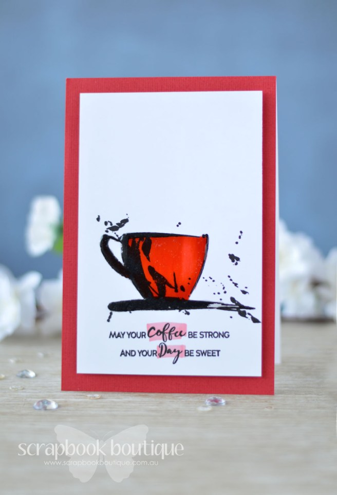 Lostinpaper - Coffee with a Splash (card video) 1