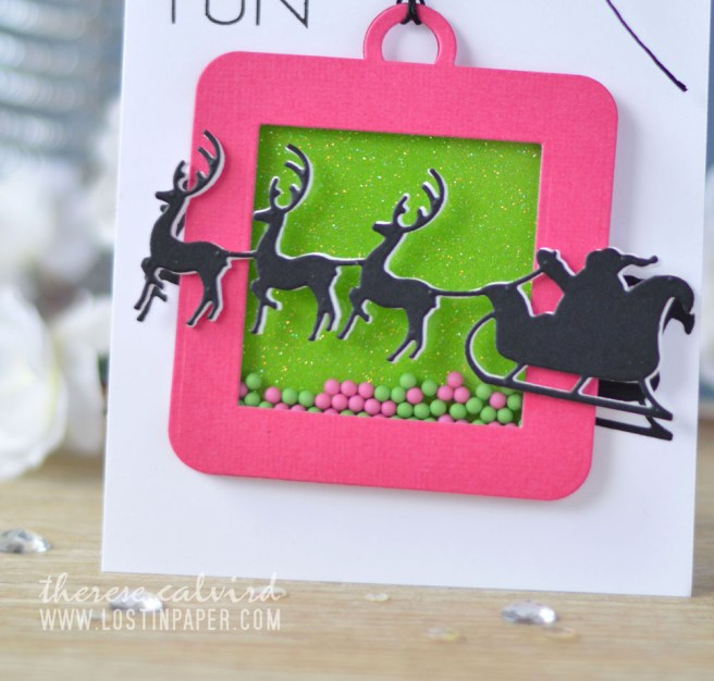 Lostinpaper - Penny Black - Do Not Open - Santa's Sleigh (card video) 1