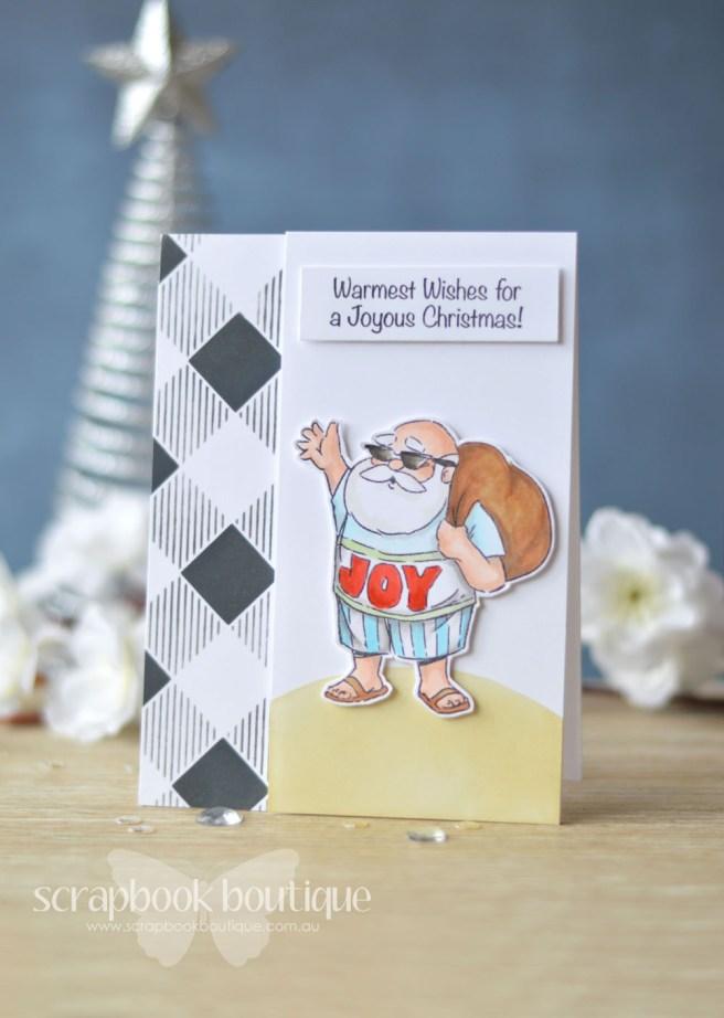 Lostinpaper - Art Impressions - Tropical Christmas - Echo Park (card video) - Copy