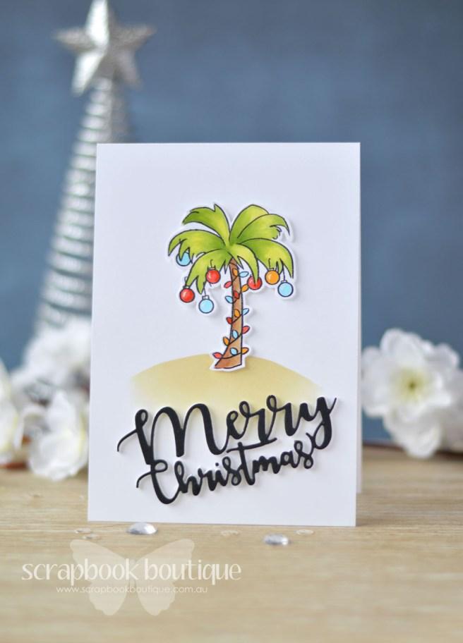 Lostinpaper - Art Impressions - Tropical Christmas - Penny Black - Ornamental Branch (card video) - Copy