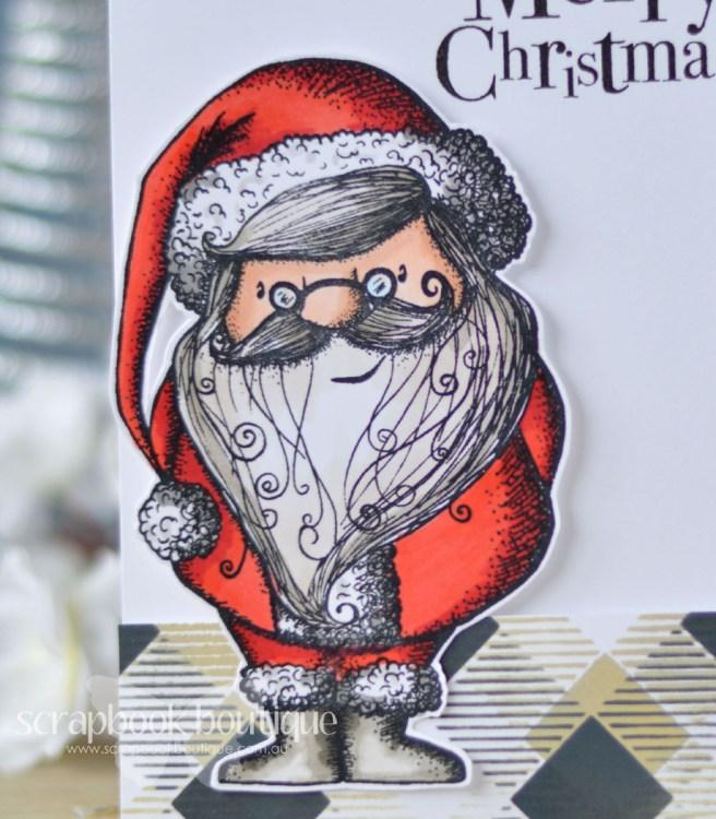 Lostinpaper - Carabelle Studio - Santa Claus - Penny Black - North Pole Treasures - Echo Park (card video) - Copy