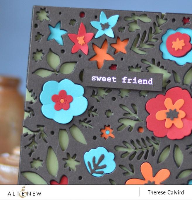 Altenew - Spring Flower Cover Die - Sweet Friend - Lostinpaper (card) 1 copy