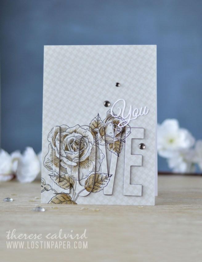 Lostinpaper - Penny Black - Gimme 5 - Love & Roses (card video) 10