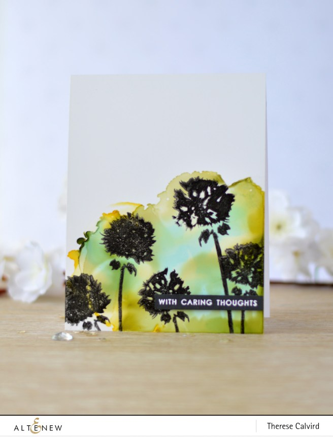 Altenew - Wild About You - Thinking of You - Artist Markers - Therese Calvird (card video) 1 copy