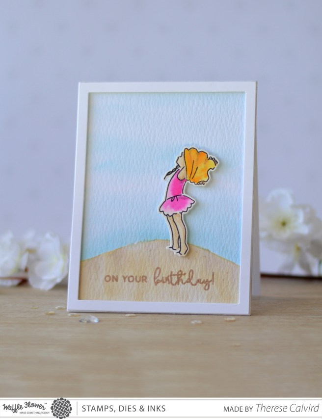 Sandy Toes - Rainbows - Therese Calvird (cards) 1 copy