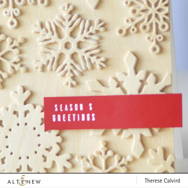 Altenew - Layered Snowflake Die - Festive Poinsettia - Therese Calvird (card video) (2) copy