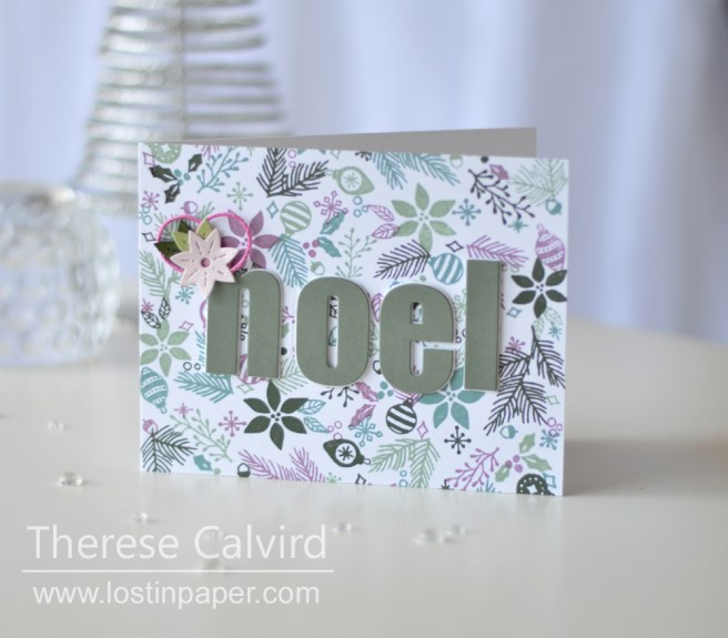 Lostinpaper - Concord & 9th - Deck The Halls - Holiday Cheer Tag - Altenew - Bold Alphabet Die (card video) 1