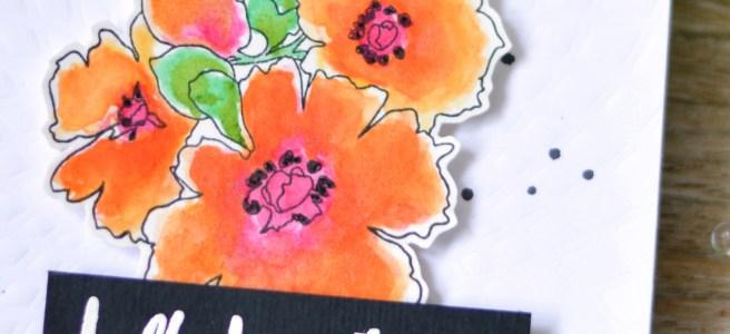 Altenew - Sunburst - Charmed - Therese Calvird (card video) 1