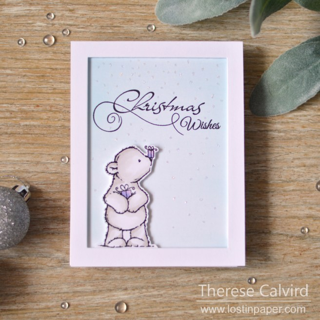 Lostinpaper - Penny Black - Christmas Bunch - Joyful Holiday (card video) 1