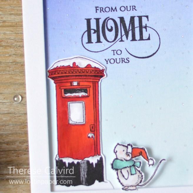 Lostinpaper - Penny Black - Joyful Wishes - Deck the Halls (card video) 1