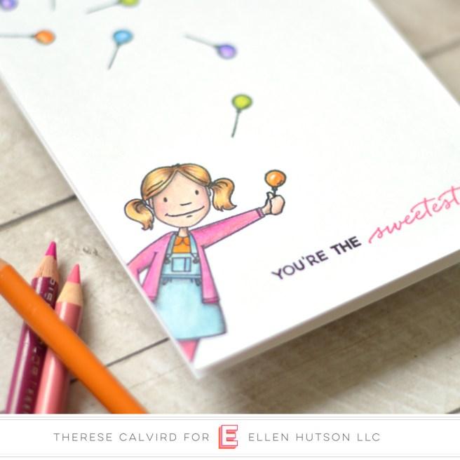 therese calvird - ellen hutson - little lady - totally random sayings vol 2 (card video) 1 copy