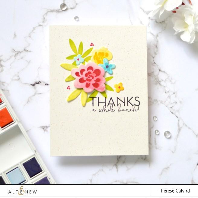 Altenew - Bold Bunch - Therese Calvird (card) 1 copy