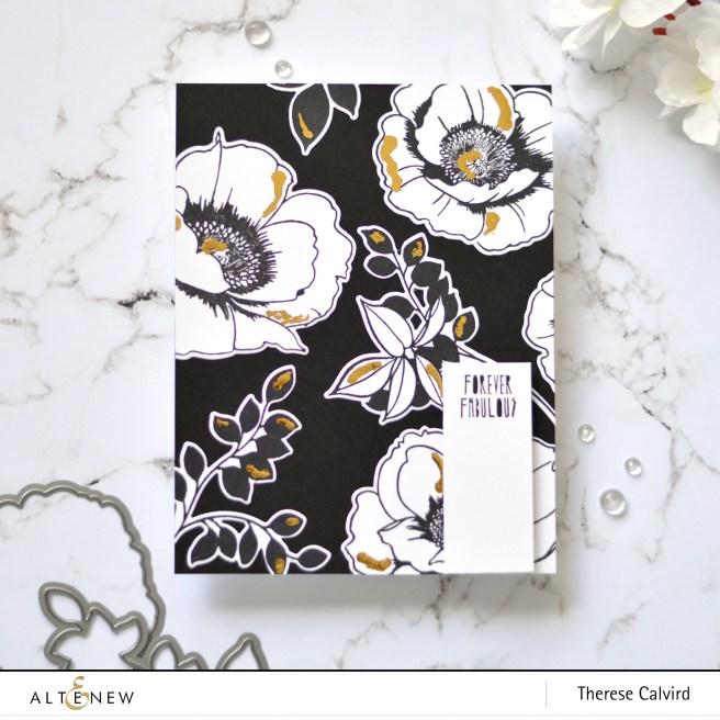 Altenew - Wallpaper Art - Therese Calvird (card video) 1 copy