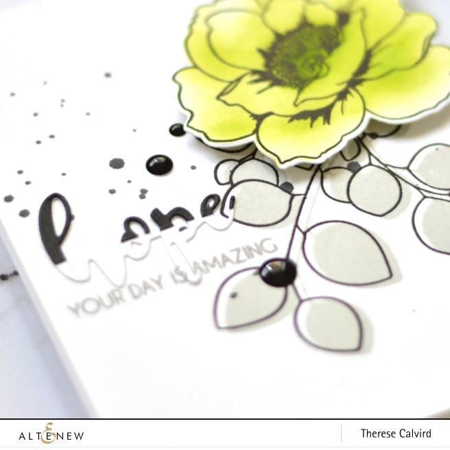 Altenew - Wallpaper Art - Leaf Canopy - Hope - Therese Calvird (card) 1 copy