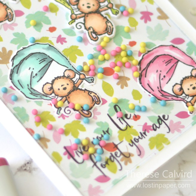 Lostinpaper - Gimme 5 Penny Black Critter Shakers (card video) 1