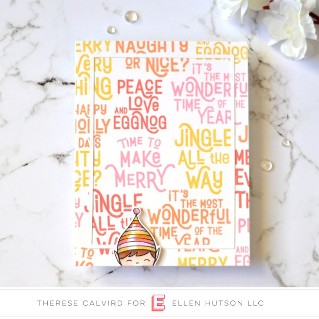 Lostinpaper - Ellen Hutson - Retro Holiday Greetings - Holiday Characters (card) 1 copy