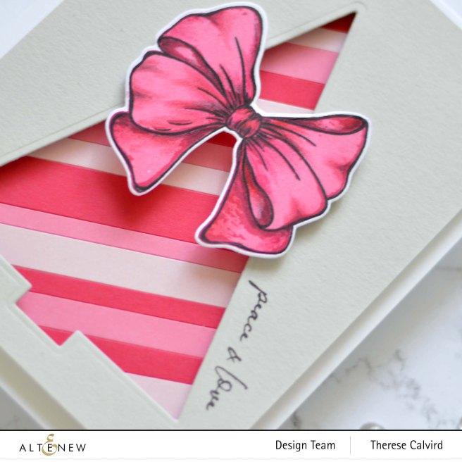 Altenew - Festive Foliage - Gradient Cardstock - Take 2 With Therese (card video) 2 copy