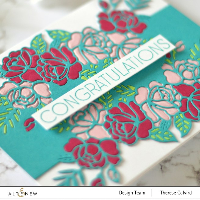 Altenew - Floral In N Out Border Die - Apothecary Labels - Signature Words Die - Ornamental Bliss 2 copy