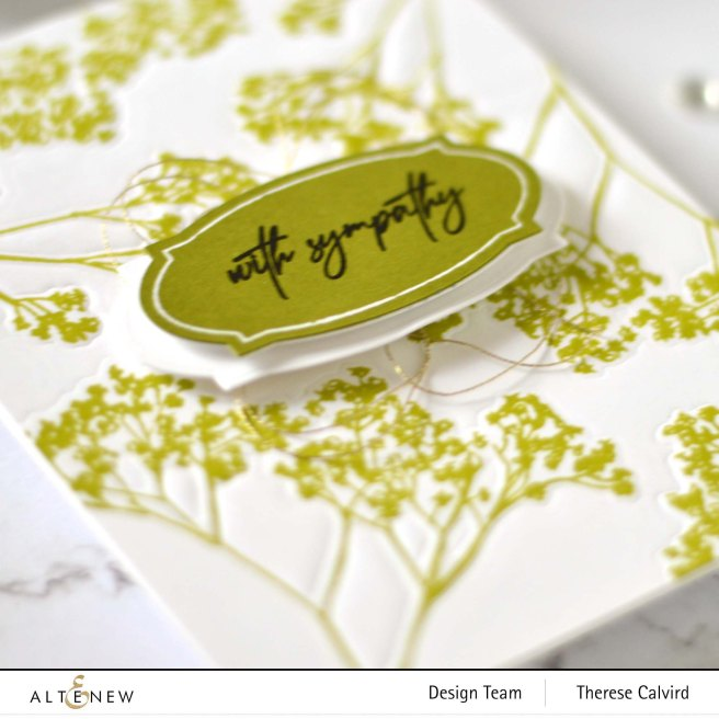 Altenew - Fragile Foliage - Take 2 With Therese (card video) 7 copy
