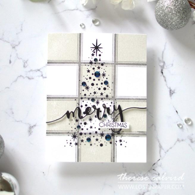 Lostinpaper - Same But Different Christmas Card Series 2020 - Plaid Tartan (card video) 1