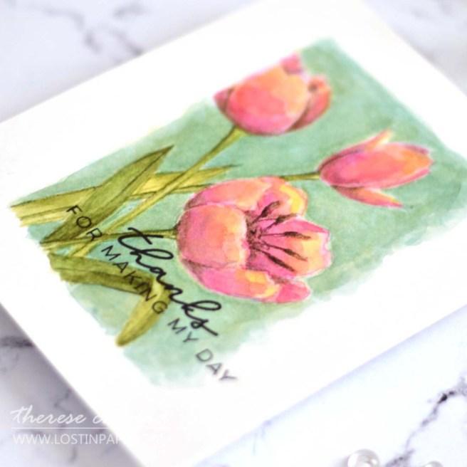 Lostinpaper - Ellen Hutson - Mondo Tulips (card) (1)