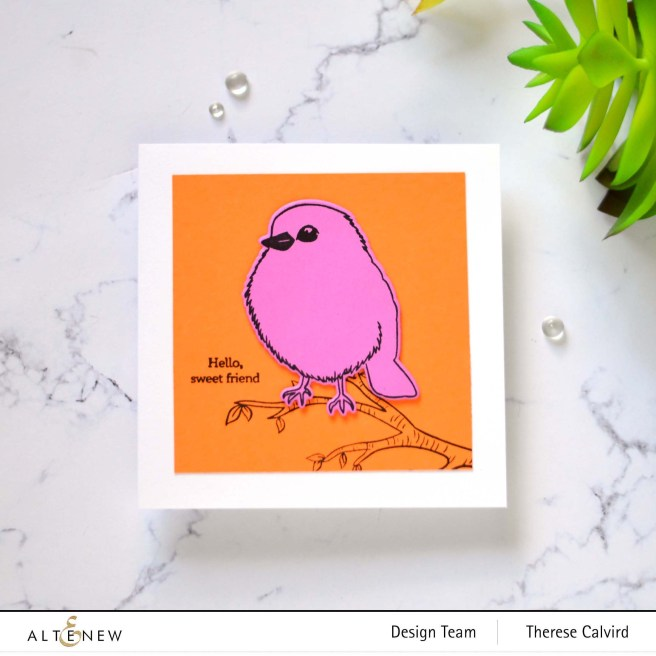 Altenew - Bird Of the Woods - Fresh Bloom (card) 1 copy