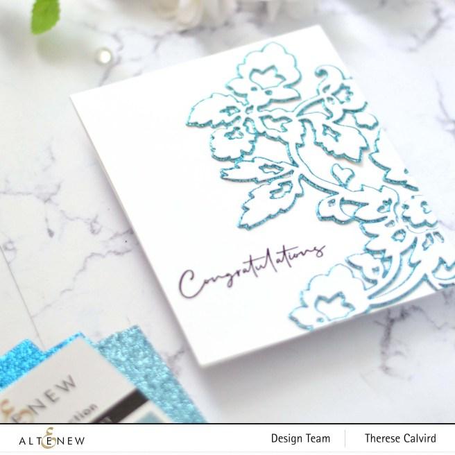 Altenew - Pattern Motif Die Set - PAF Carnations (card) 1 copy