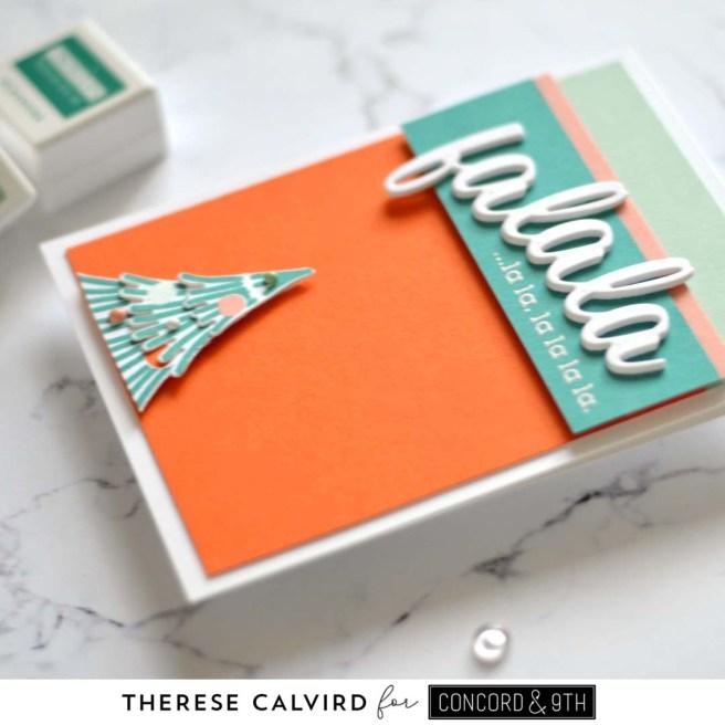 Lostinpaper - Concord & 9th - Fa La La Fringe Tree (card) 1 copy