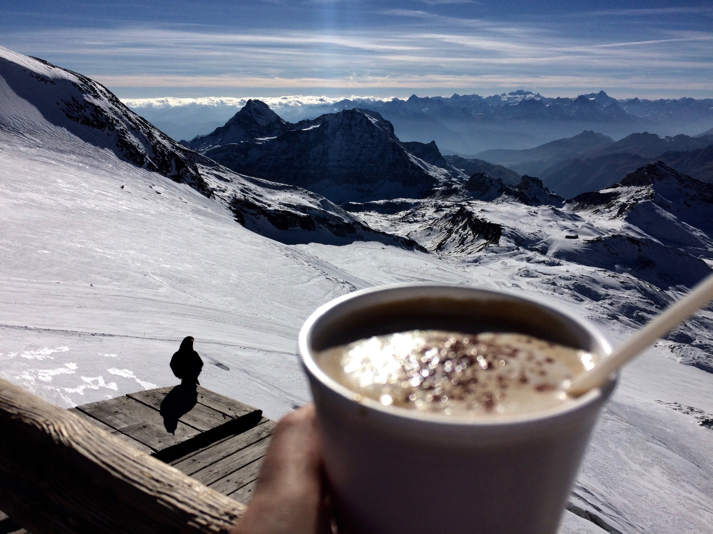 Coffee break with a view