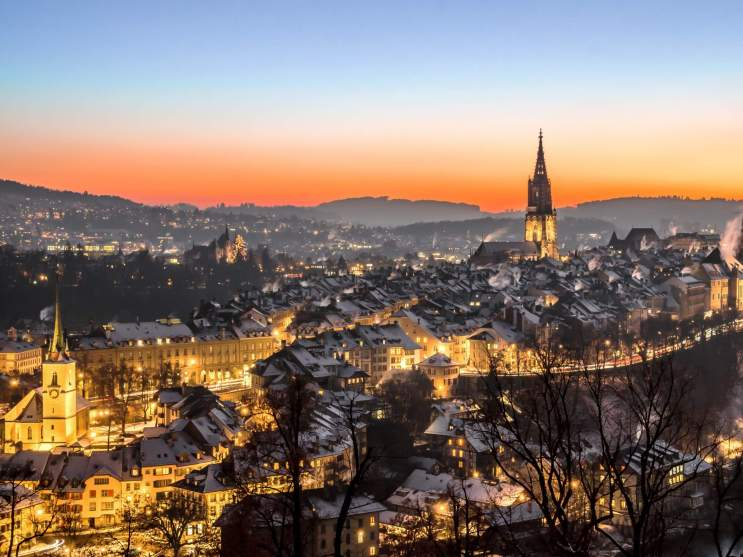 the city of Bern is Switzerland's capital