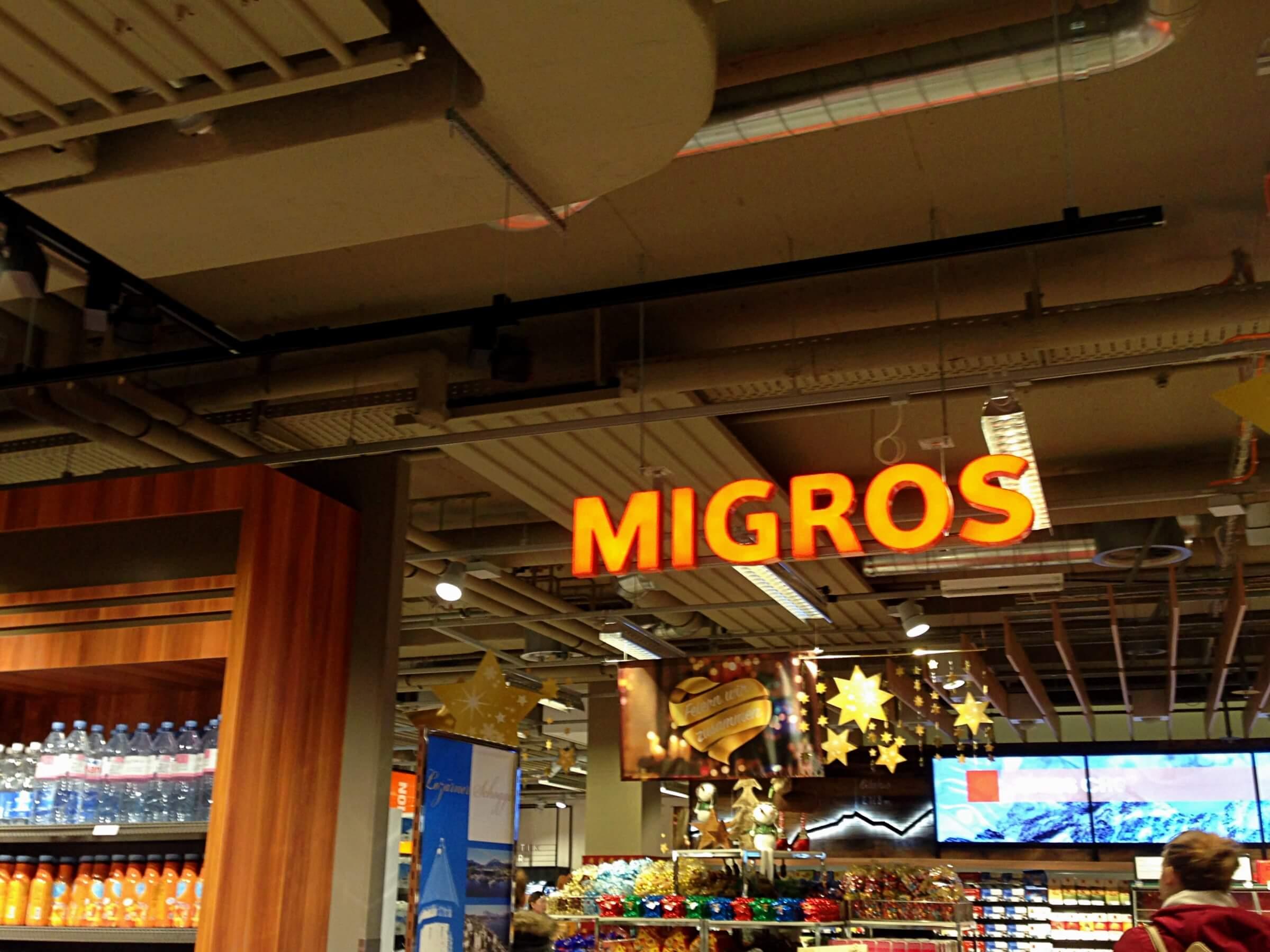 Supermarkets 101 how to get your groceries in switzerland migros is switzerlands biggest supermarket chain solutioingenieria Choice Image