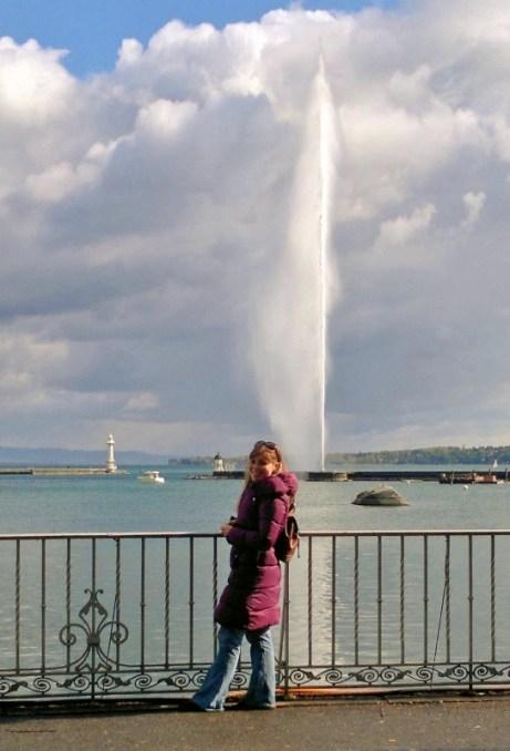 Jet d'eau Geneva