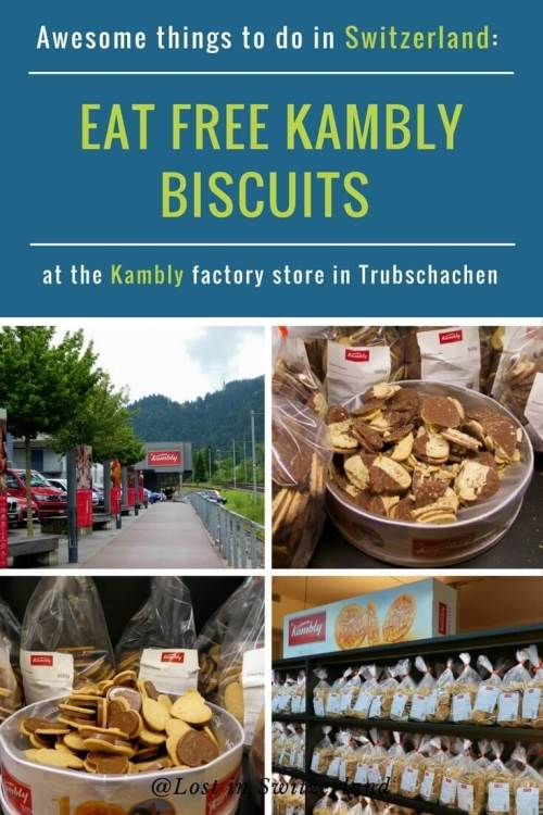 If you've ever dreamed of eating free biscuits until you drop, visiting the Kambly factory in Trubschachen, Switzerland is an absolute must.