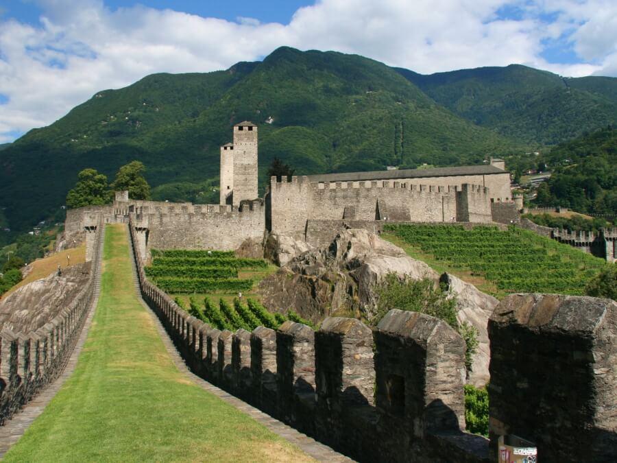 UNESCO Castle in Bellinzona