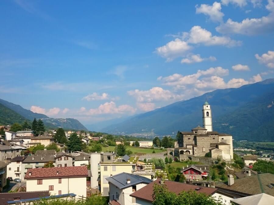 Berbenno in the Valtellina Valley