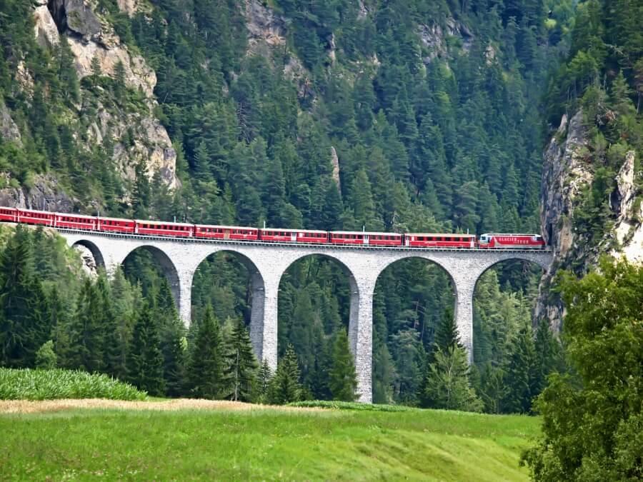 The Landwasser Viaduct