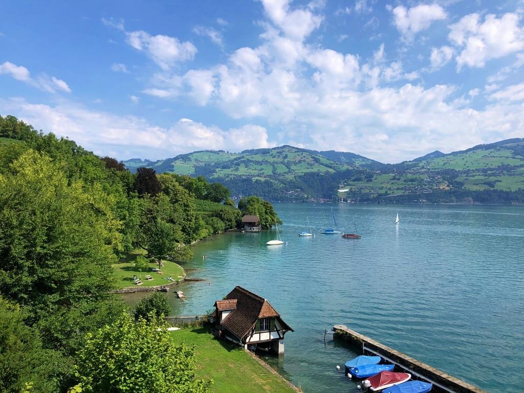 Lake Thun in Spiez