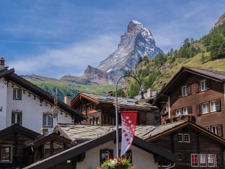 The village of Zermatt