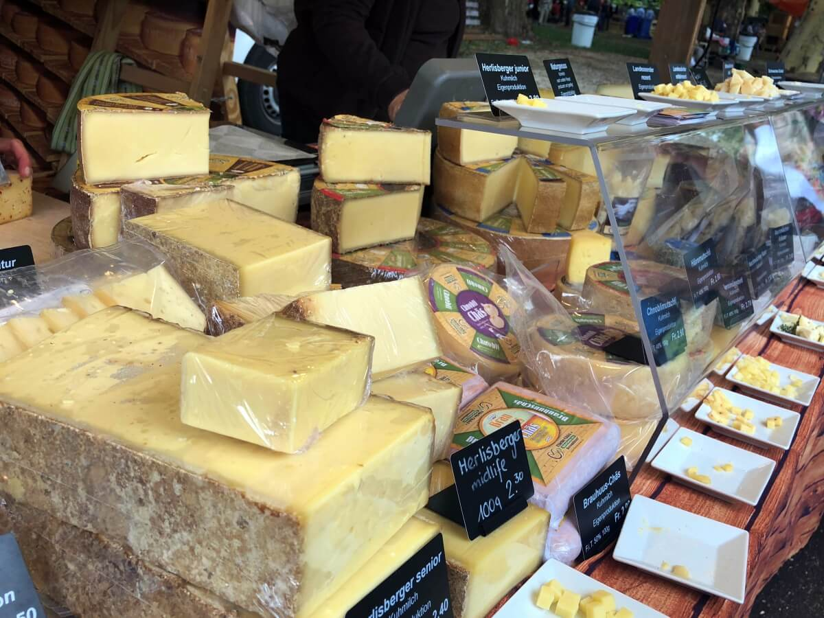 cheese day in Solothurn