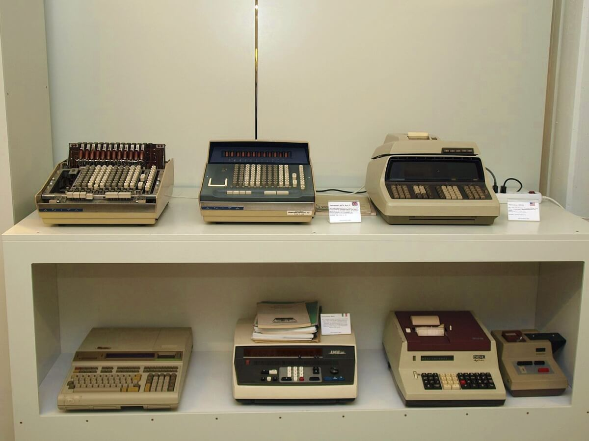 gadgets at Enter museum