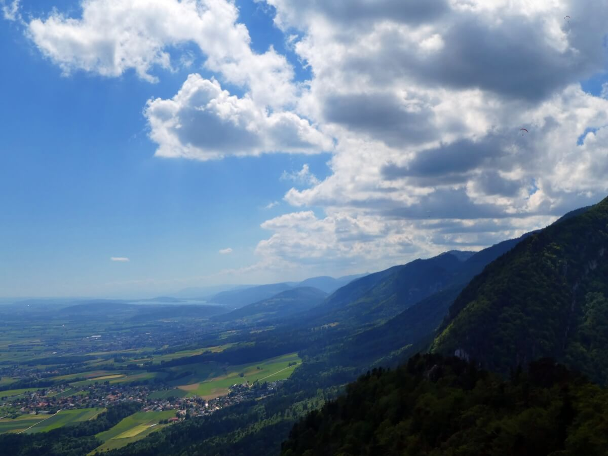 on the way down from Weissenstein to Oberdorf